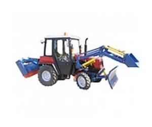 Коммунальные машины и экскаваторы на базе мини-тракторов