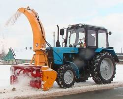 Снегоочиститель шнекороторный ШРК 2,0