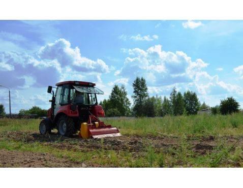 Почвофреза для МТЗ усиленная, для целинных земель.
