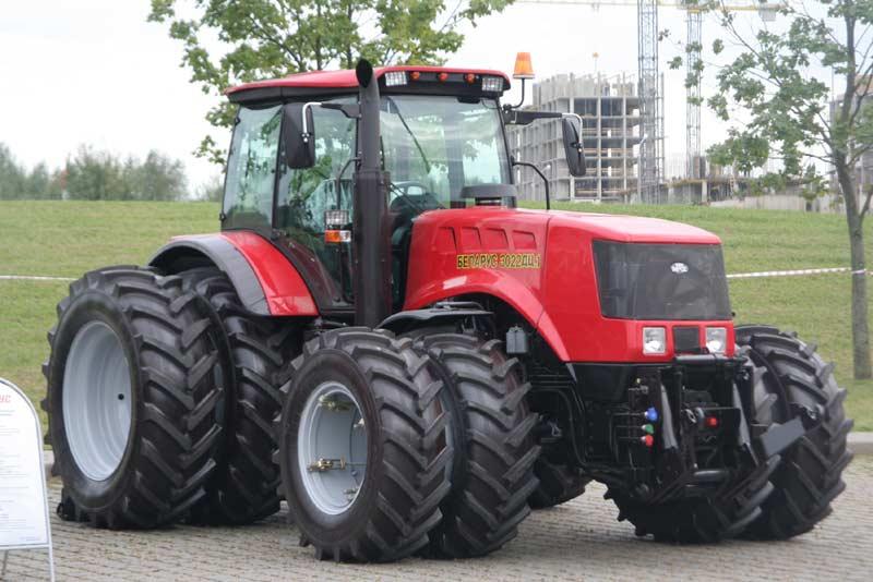 Трактор МТЗ-3022: строение техники и область приминения