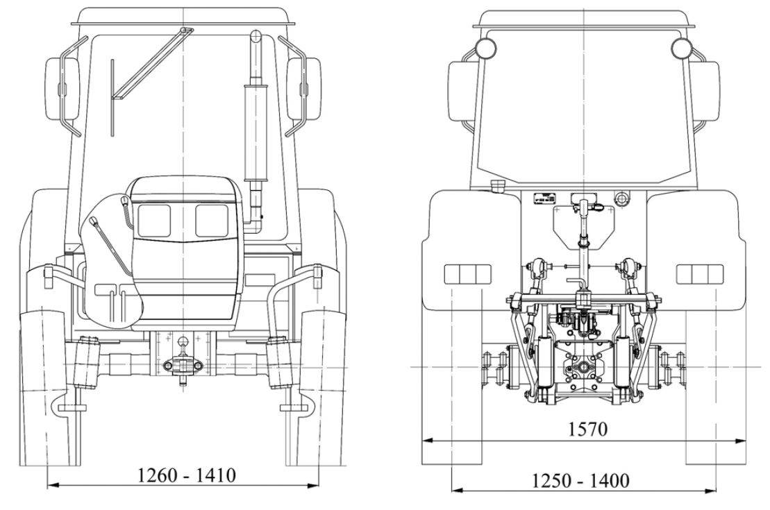 Тягово-сцепное устройство МТЗ-1025.4