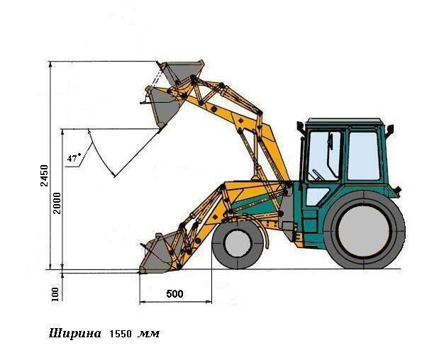 ФГП 0.3 для МТЗ 320 схема