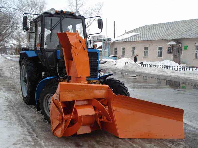 Снежный отвал СО 2.5 - для тракторов МТЗ 82 и Агромаш 85