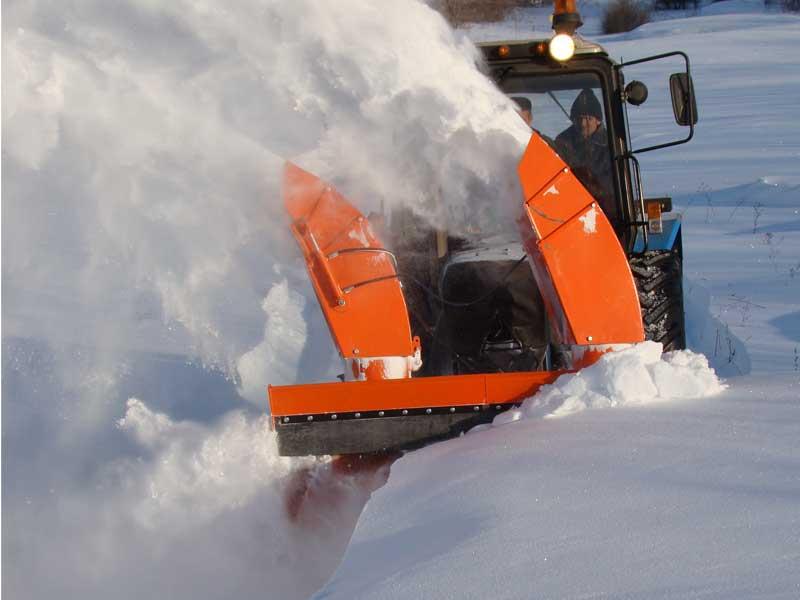 Снегоочиститель шнекороторный на МТЗ
